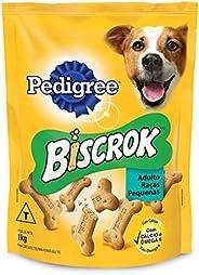 Biscoito Para Cachorros Pedigree Biscrok Raças Pequenas Adultos 1kg