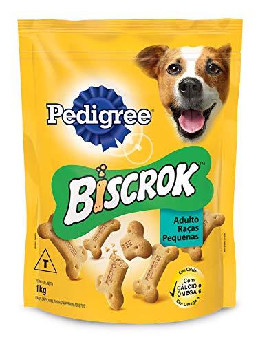 Biscoito Pedigree Biscrok Para Cães Adultos Raças Pequenas 1 kg