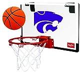 Rawlings NCAA Kansas Jayhawks 00673034111NCAA Game On Polycarbonate Hoop Set (All Team Options), Blue, Youth