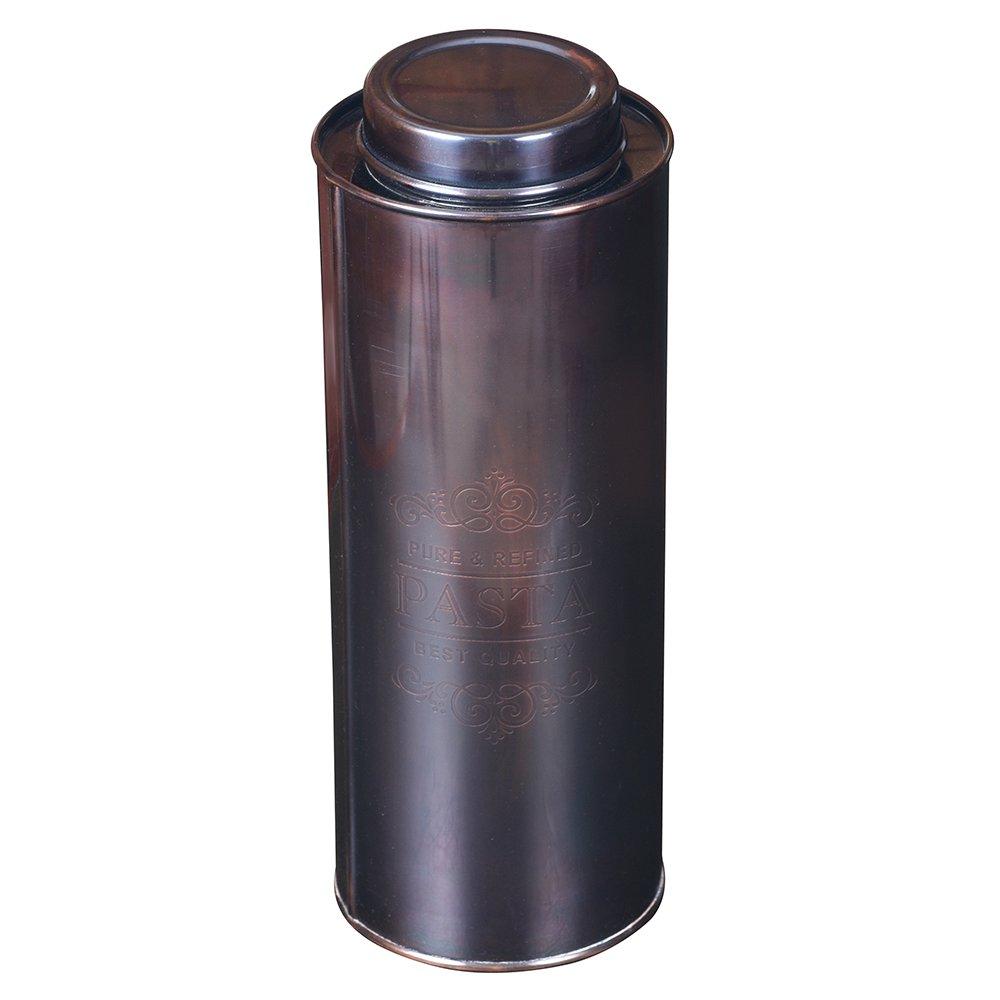 Kosma Acciaio inossidabile Vaso per vasetto di stoccaggio per spaghetti (Rotondo) - Rame antico finitura 11 '