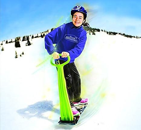 Amazon.com: ToysLand Nieve Scooter Scooter de esquí ...