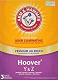 yz vacuum bags - Arm & Hammer Hoover Type Y&Z Premium Allergen Vacuum Bag