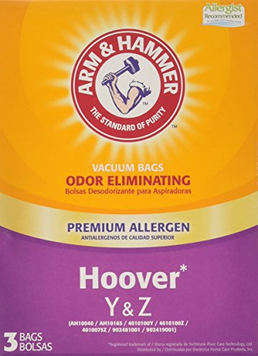 (Arm & Hammer Hoover Type Y&Z Premium Allergen Vacuum Bag )