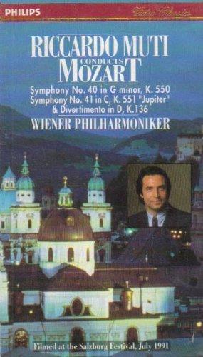 Riccardo Muti Conducts Mozart (Symphony No. 40 in G minor, K. 550, Symphony No. 41 in C, K. 551,
