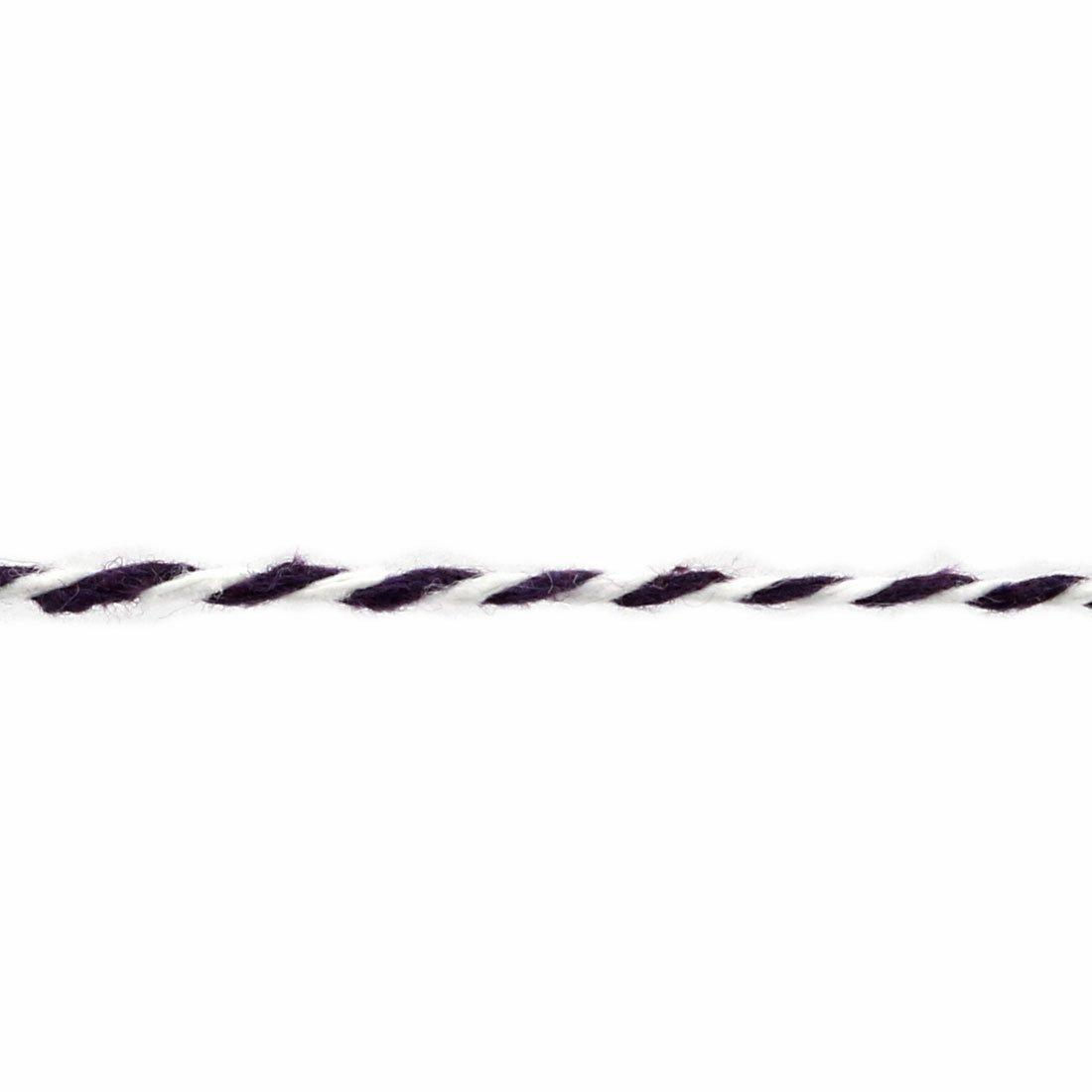 Amazon.com: Cuerda de algodón eDealMax jardín del hogar de la Flor del Regalo del árbol Adorno arte DIY Agrupación línea púrpura Blanca: Health & Personal ...