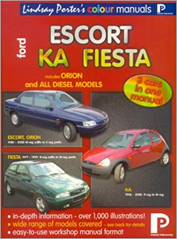Ford fiesta escort orion ka