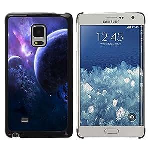 Shell-Star Arte & diseño plástico duro Fundas Cover Cubre Hard Case Cover para Samsung Galaxy Mega 5.8 / i9150 / i9152 ( Space Planet Galaxy Stars 2 )