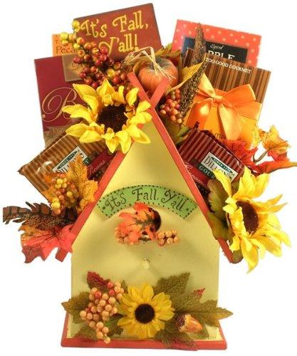 (Fall Thanksgiving Gourmet Birdhouse Gift)
