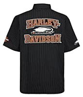 HARLEY-DAVIDSON Mens Screamin' Eagle Frontrunner Embroidered Crew HARLMW0059