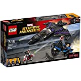 LEGO Super Heroes 76047 - l'Inseguimento di Pantera Nera