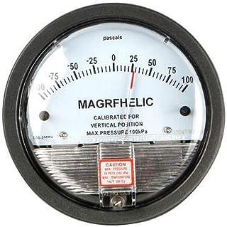 Sconosciuto Elecall New -100~ 100PA TE2000Micro differenziale manometro ad Alta precisione 1/20,3cm misuratore di Pressione dell' Aria NPT barometro