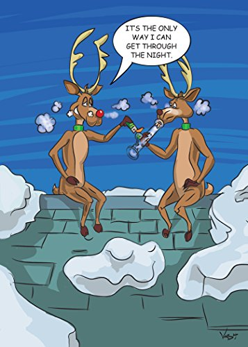 Deer Getting High