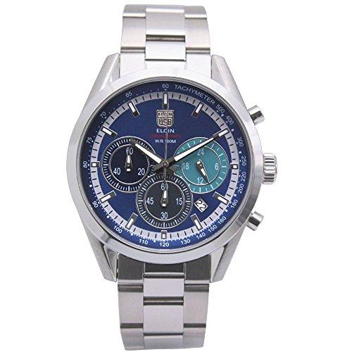 - ELGIN Chronograph Quartz Men's Watch FK1411S-BL Blue