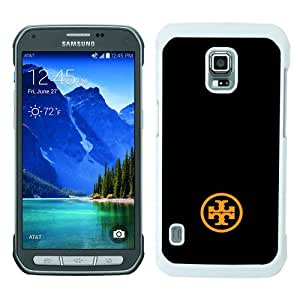Unique Samsung Galaxy S5 Active Cover Case ,Hot Sale And Popular Designed Case With Tory Burch 68 (2) White Samsung Galaxy S5 Active Case Unique And Cool Phone Case