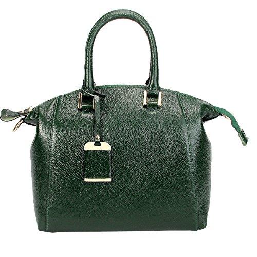 Sac Sac E à Girl main épaule bandoulière A8210 Sac femme Sac portés portés Vert fashion main cuir LF en qtnvWrfxt