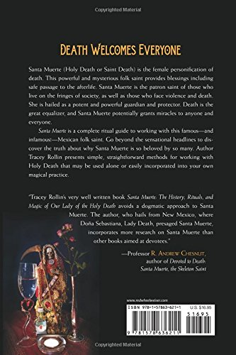 Amazon com: Santa Muerte: The History, Rituals, and Magic of Our