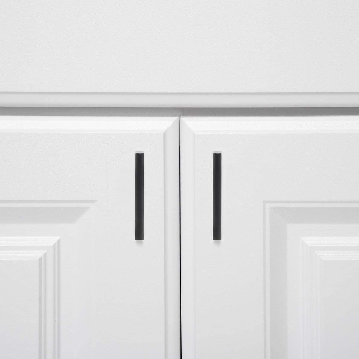 centre des trous 7,62 cm Noir mat Basics AB3700-FB-10 Poign/ée pour placard Longueur 8,5 cm