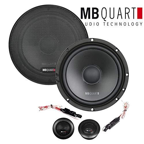 Lautsprecher Boxen MB Quart QS165-16cm Kompo Auto Einbauzuebeh/ör JUST SOUND best choice for caraudio Einbauset f/ür Skoda Fabia 2 5J Front Heck