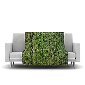 Kess inhouse susan sanders emerald moss - Emerald green throw blanket ...