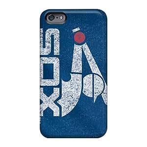 JoannaVennettilli Apple Iphone 6 Plus Protective Hard Phone Case Allow Personal Design Realistic Chicago White Sox Skin [PjG11939dzzp]