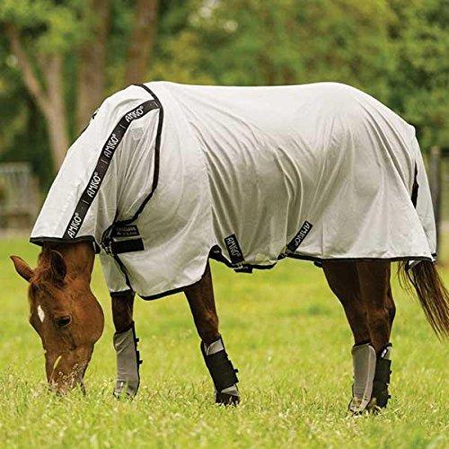 amiGO Fly Boots Horse Oatmeal/Brown