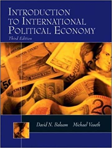Introduction To International Political Economy Balaam Dillman Pdf