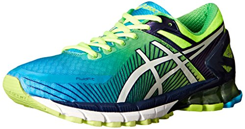 asics-mens-gel-kinsei-6-running-shoe-flash-yellow-white-blue-11-m-us