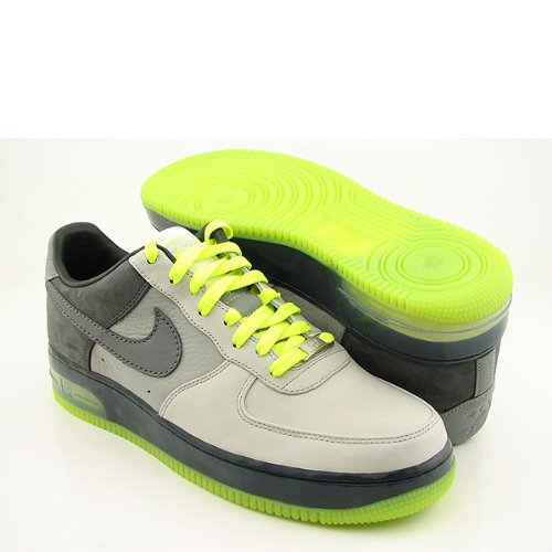 Nike Air Force 1 Low Supreme 318772-001 Grey Neon Yellow (11)