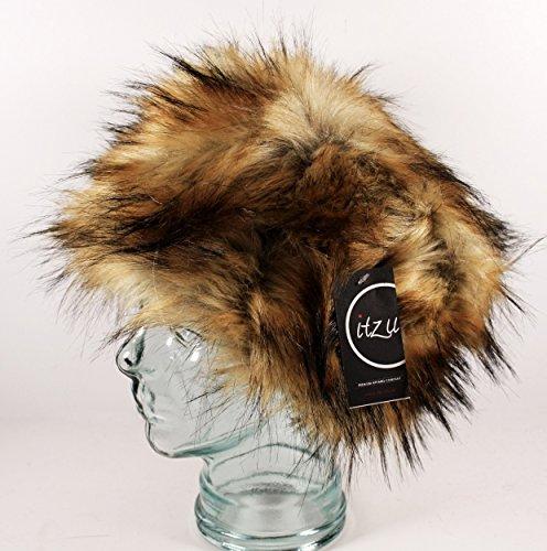 Hiver Luxe Couleurs Fourrure Chaud Russe En Doubl 9 Chapeau Cosaque UnqA1X