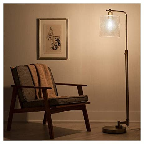 Hudson Industrial Floor Lamp - Brass (Includes CFL Bulb ...