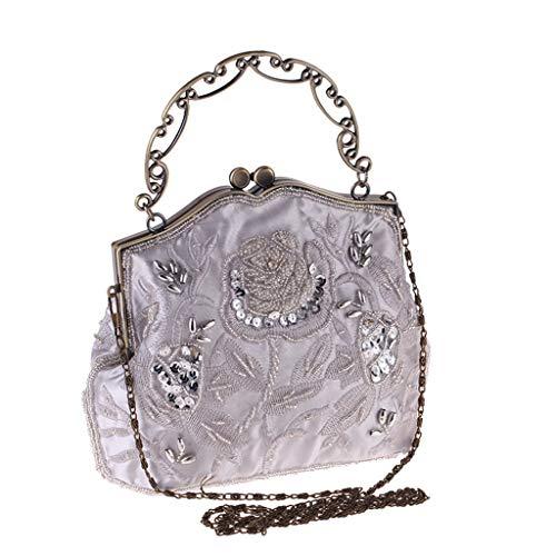 Bag Main Vintage Femmes A Pochette Dress Couleur Banquet Mobile Sac Téléphone Sac Générique Dîner Hand Femme C Sac à Pochette Wild 6PxWq1A