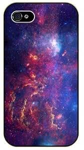iphone 6 plus 5.5 Colorful nebula - black plastic case / Space, Stars, Fantasy