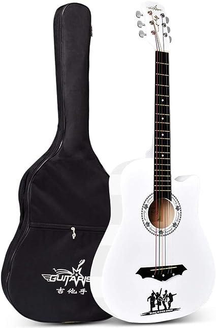 Boll-ATur Guitarra acústica popular de 38 pulgadas Principiantes ...
