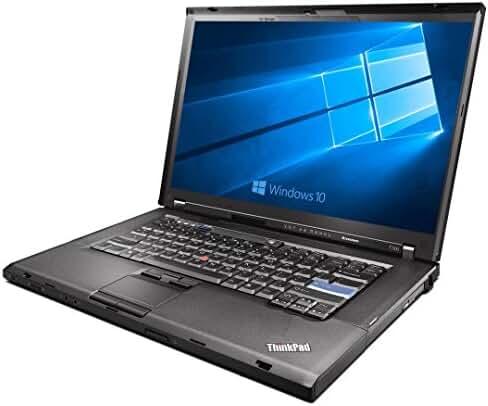 Lenovo ThinkPad T500 Laptop Intel Core 2 Duo 2.26ghz - 3GB DDR3 - 160GB SATA HDD - DVD+CDRW - Windows 10 Home 32bit - (Certified Refurbished)