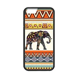 Generic Customized Durable Case for Iphone6 ( 4.7 inches ) Indian Elephant Phone Case wangjiang maoyi by lolosakes