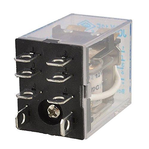 Amp 240v Coil (Dc 12V Coil 10A 240Vac 28Vdc Dpdt Electromagnetic Relay Jqx-13F2Z)
