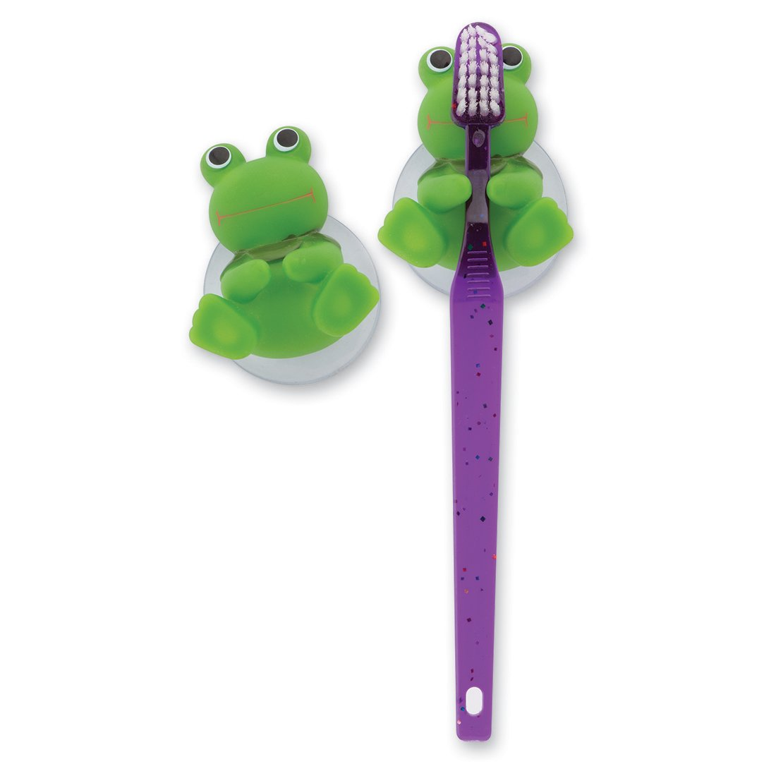 SmileMakers Frog Toothbrush Holders - 12 per Pack