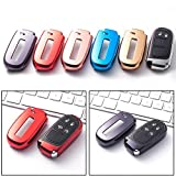 Black Soft TPU Remote Smart Key Fob Shell Cover For Jeep Chrysler Dodge