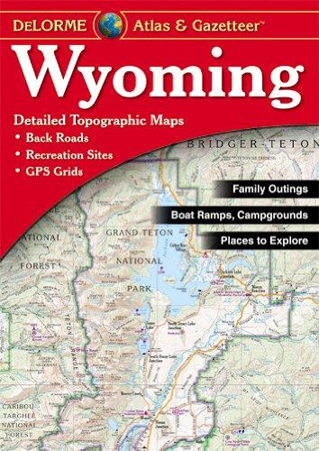 Wyoming Atlas & Gazetteer cover