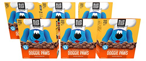 Blue Dog Bakery | Dog Treats | All-Natural | Peanut Butter & Molasses by Blue Dog Bakery