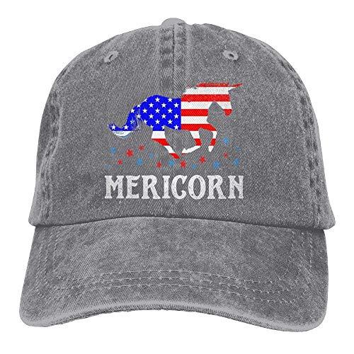 Adjustable Yuting Flag American Denim Cap Gorras Hat Female Flag Baseball Fitted béisbol Unicorn tqrA8U