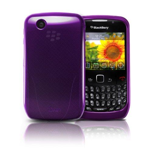 (Iskin Translucent Purple Protect Coverf/BlackBerry 8520)