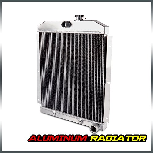 For 47-54 CHEVY 3100/3600/3800 TRUCK PICKUP l6 Full Racing Aluminum Radiator