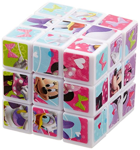 (Amscan AM-395748 Minnie's Brain Teaser for Kids Puzzle Cube (24 per Pack), 1, Multicolored)