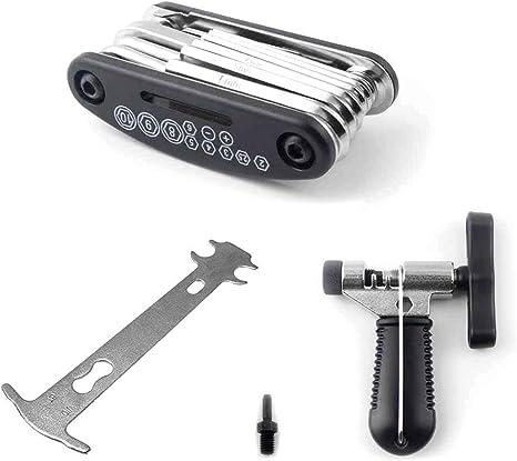 Nellguten Kit de Herramientas de Reparación de Bicicletas Kit de ...