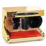 BLWX - Shoe Polisher-Automatic Shoe Polisher, Household Brush Shoe Machine-7 Colors Electric Shoe polishing Machine (Color : B, Size : 1#)