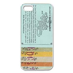 Cartoon Series, Disneyland Ticket iphone 4s Cover, Personalized iphone 4 Case, Protection Shell For iphone 4s