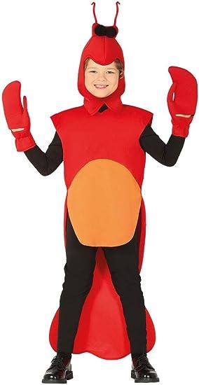 Guirca-88504 Disfraz 5-6 años Langosta, Color Rojo/Naranja (88504 ...