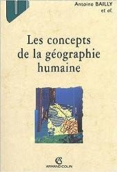 Les concepts de la géographie humaine. 5ème édition