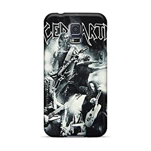 Samsung Galaxy S5 Rtr10551ZMyU Support Personal Customs HD Guns N Roses Skin Shock-Absorbing Hard Phone Cover -CharlesPoirier